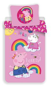 Povlečení Peppa Pig 014 140x200, 70x90 cm
