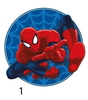 Tvarovaný plněný polštářek Spiderman  22x36 cm