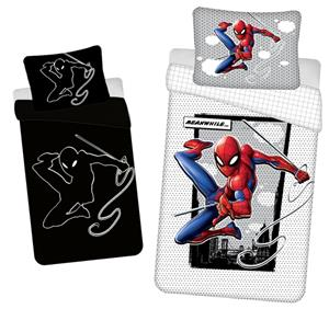 Povlečení Spiderman 02 svítící efekt 140x200, 70x90 cm