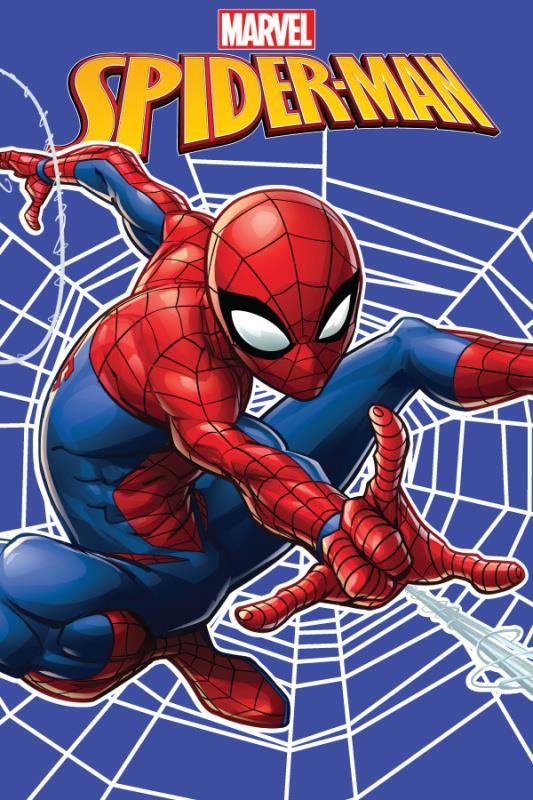 Dětská fleecová deka Spiderman web 100x150 cm