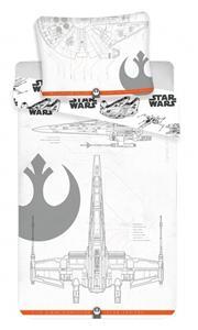 Povlečení bavlna Star Wars 9 vehicles 140x200, 70x90 cm