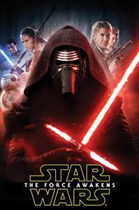 Dětská fleecová deka Star Wars The Force Awakens 100x150 cm