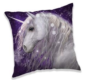 Povlak na polštářek Unicorn purple 40x40 cm
