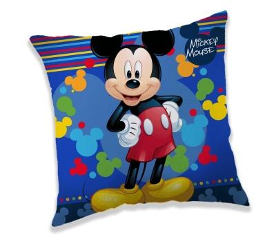 Polštářek Mickey blue 40x40 cm